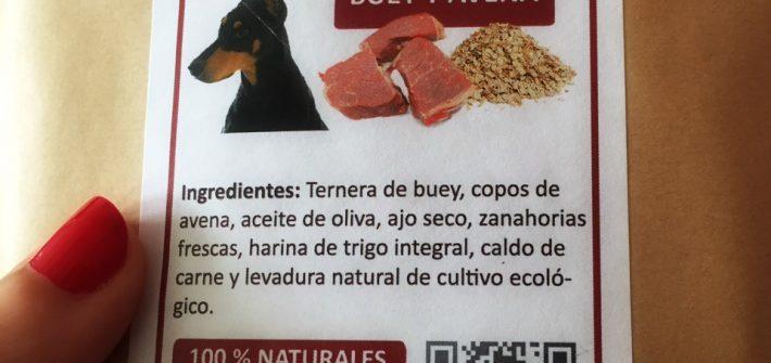 galletas naturales para perros