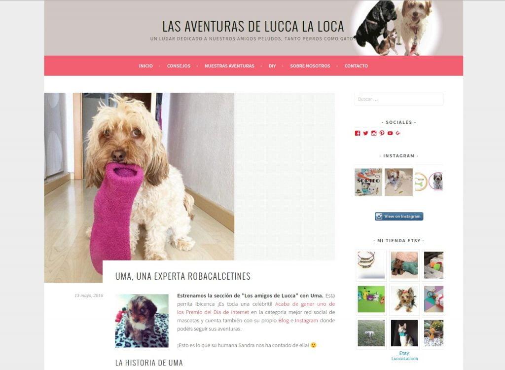 Blog de Lucca la loca