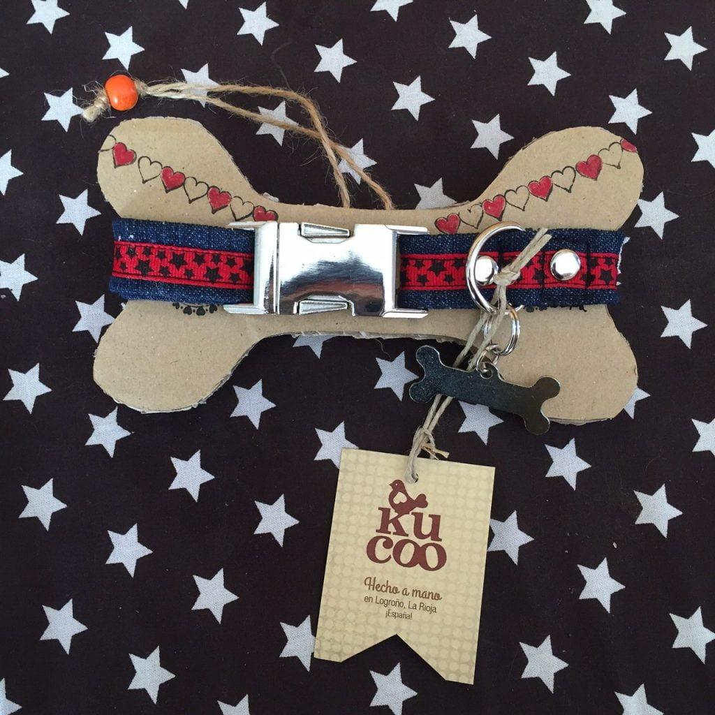 collares de perros hechos a mano