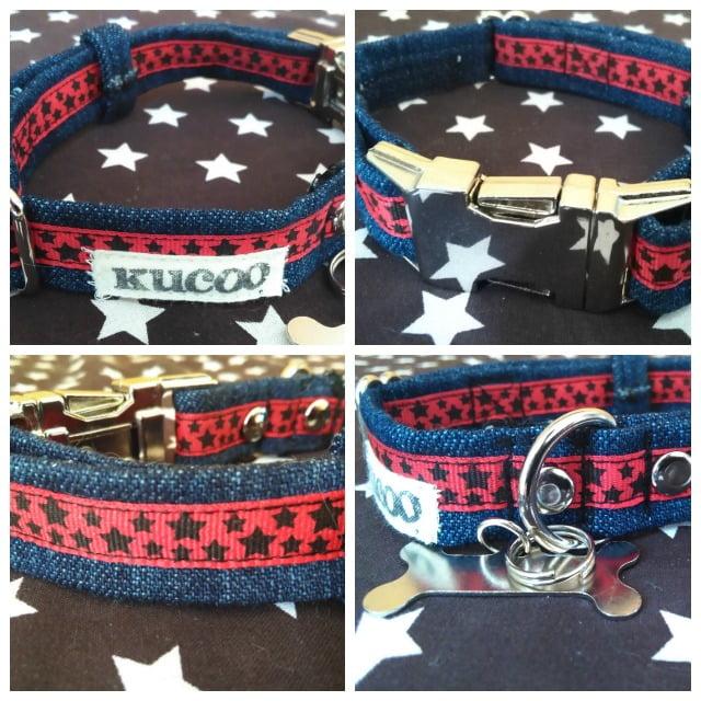 collar artesanal para perro
