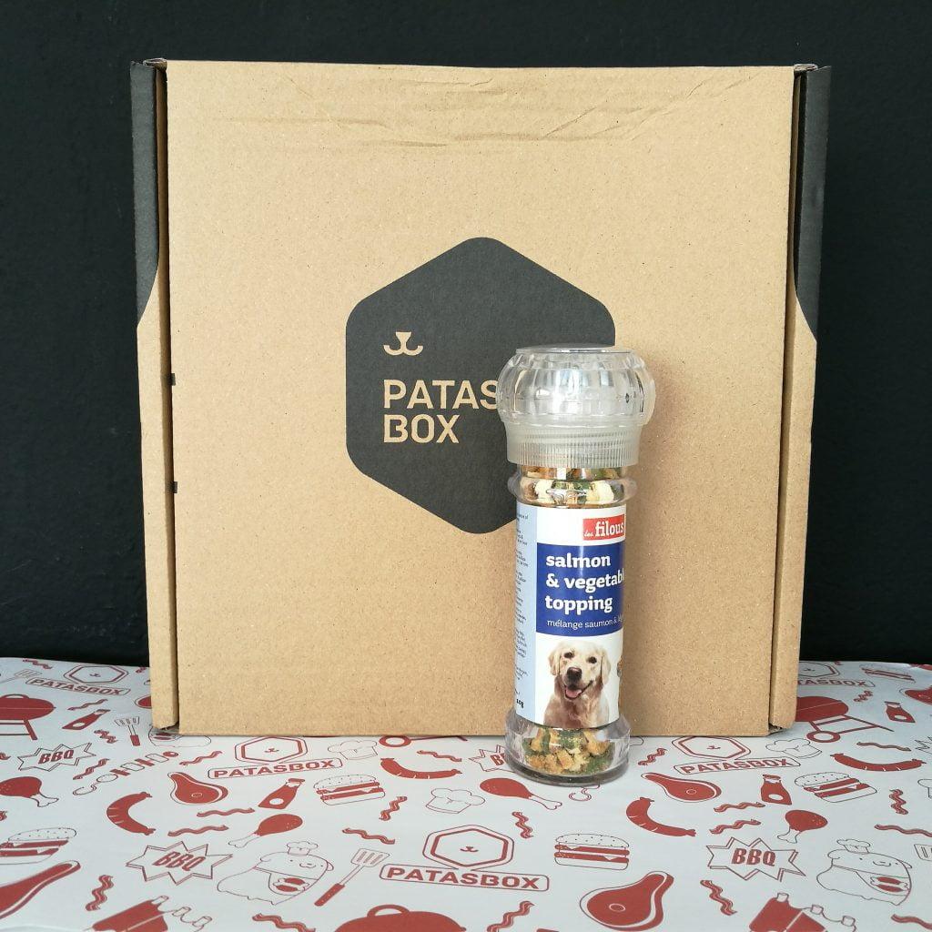 caja de suscripción mensual para perros