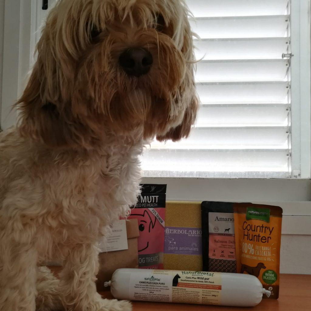 comida para perros de origen ecológico