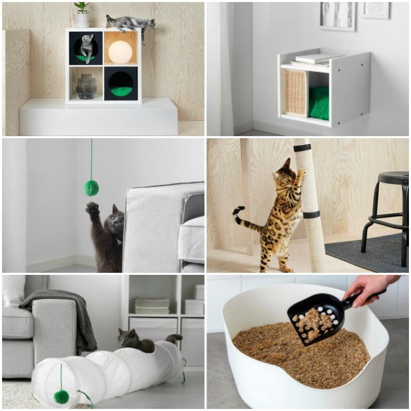 Ikea lanza lurvig una colecci n exclusiva para mascotas for Muebles para gatos ikea