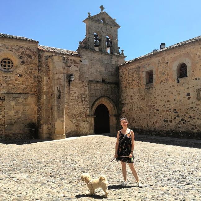 excursión con perro