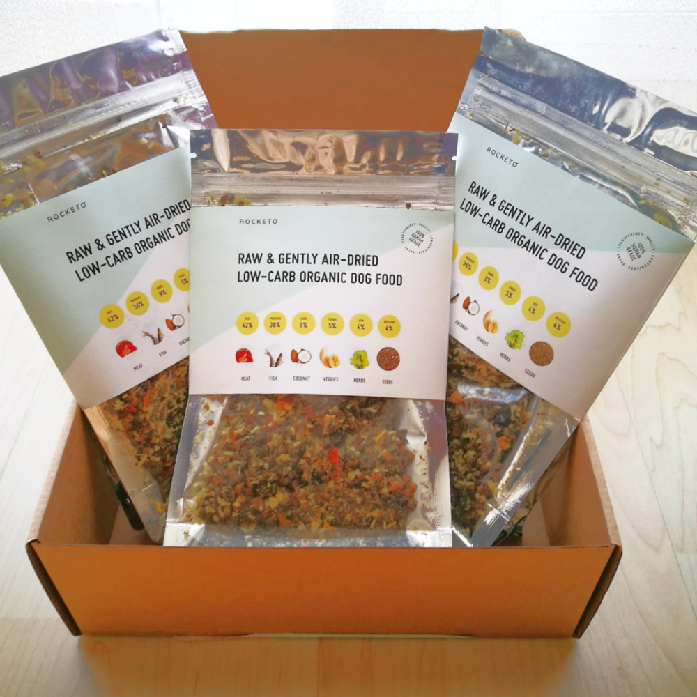 comida orgánica para perros