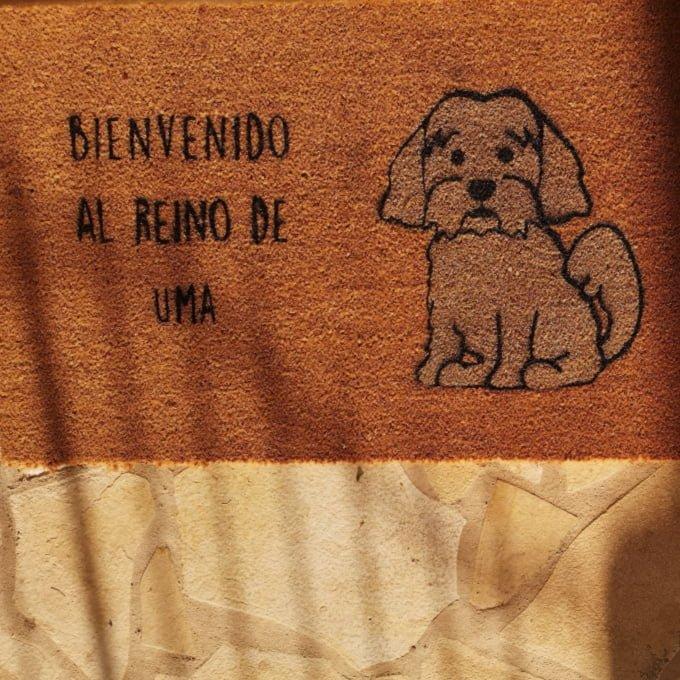 felpudos de bienvenida de perros